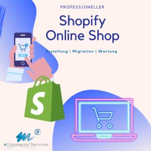 Shopify Online Shop erstellen lassen